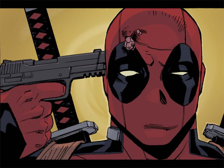 deadpool se dispara