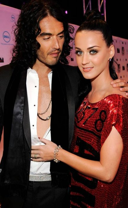 Russel Brand y Katy Perry