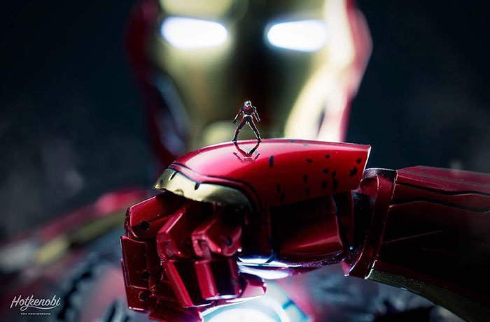 antman iron man