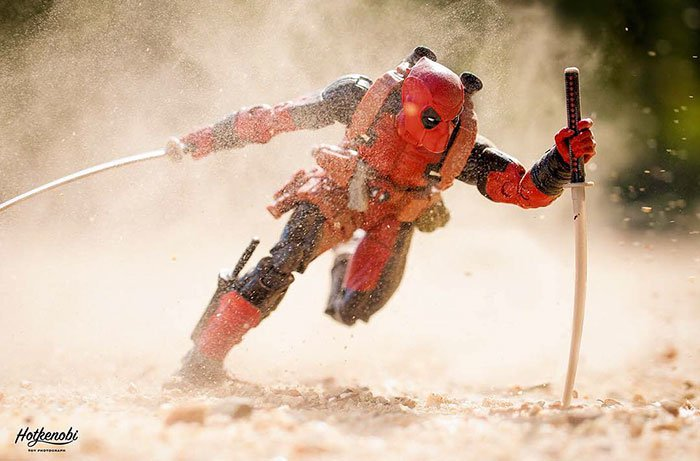 deadpool corre