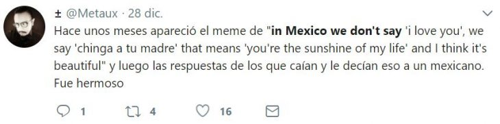 in mexico we don¨t say
