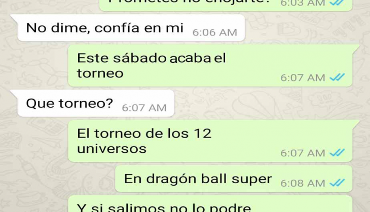 whatsapp dragon ball novia