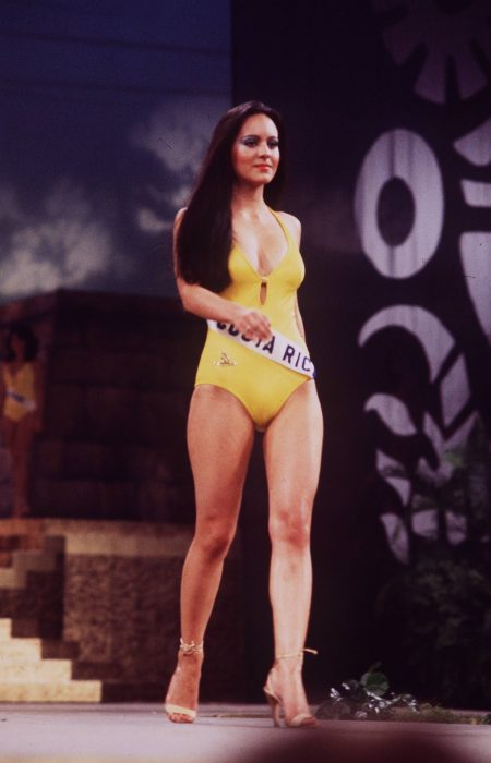 Maribel Guardia en Miss Universo