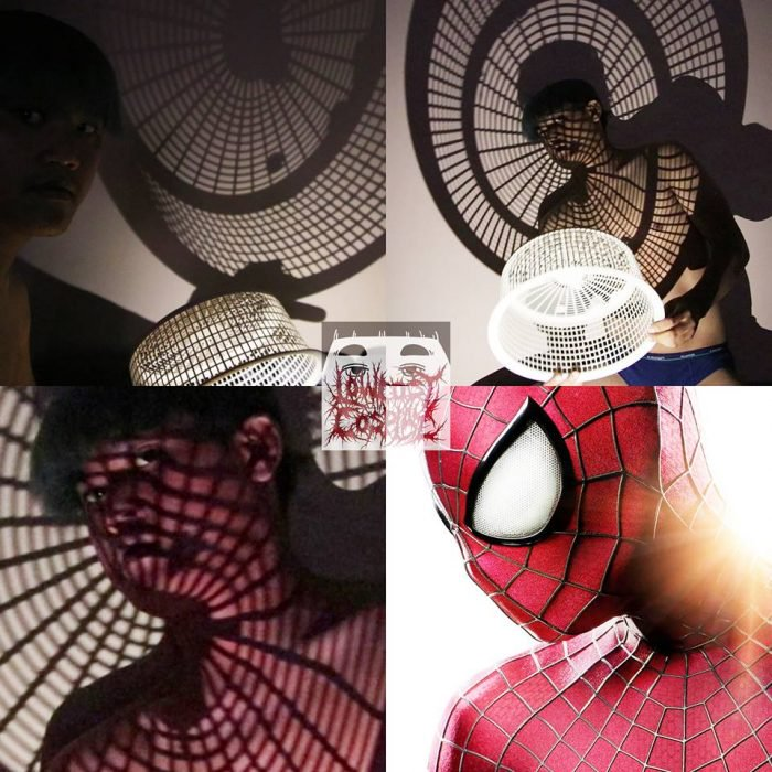 Cosplay bajo costo spiderman