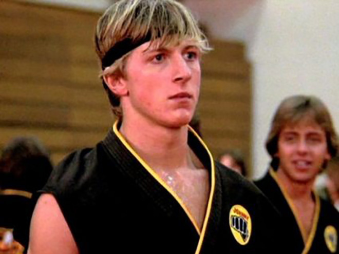 William Zabka en Karate Kid