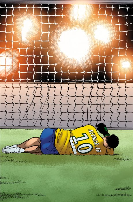 Neymar Jr. en cómic de Marvel