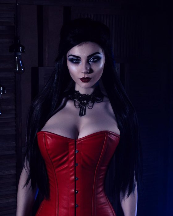 Xenia Shelkovskaya cosplayer