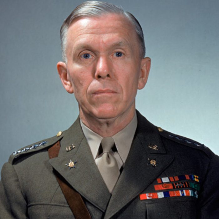 Gen. George Marshall