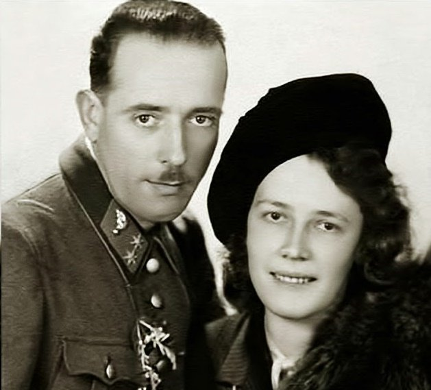 gustav and wife