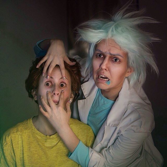 Cosplay rick y morty
