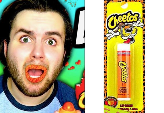 labial cheetos
