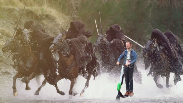 Elijah Wood en Batalla de Photoshop