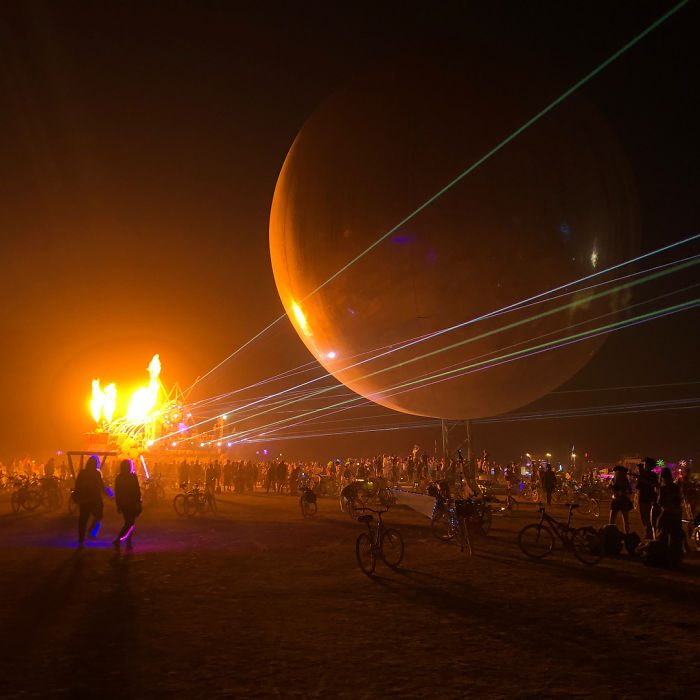 Festival Burning Man 2018