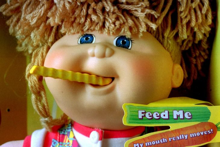 Cabbage Patch Snack Time