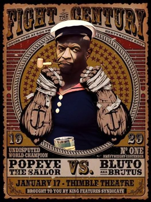 Terry crews como popeye 1