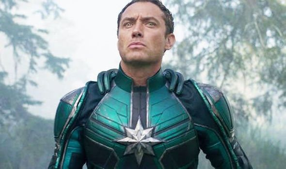 jude law kree paptain marvel