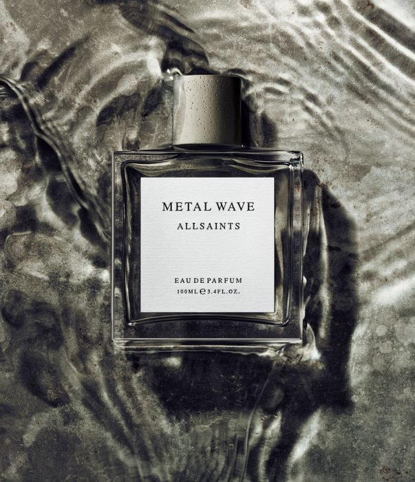 perfumes para hombre Metal Wave All Saints