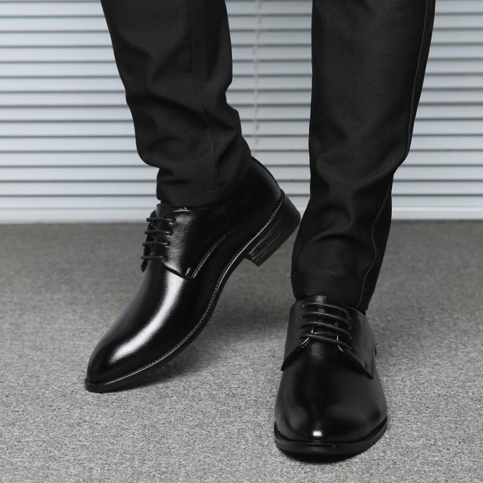 Black Leather Dress Shoes