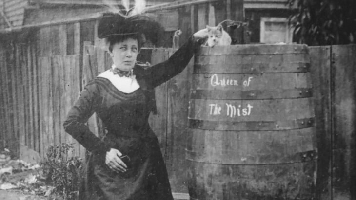 Annie Edson Taylor barril