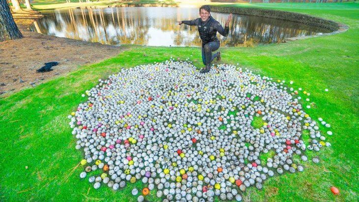 Golf-ball divers